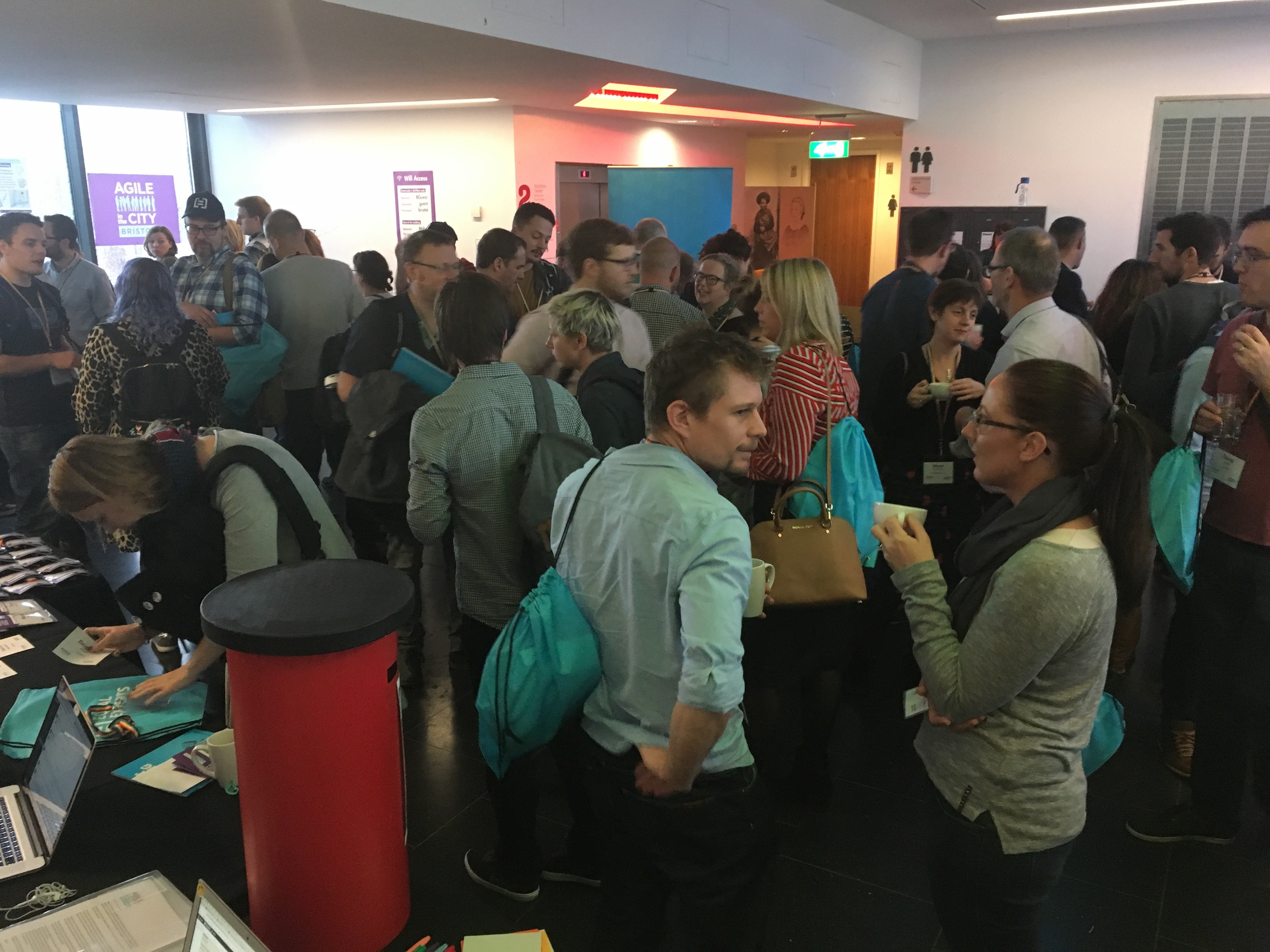 Agile in the City: Bristol social time
